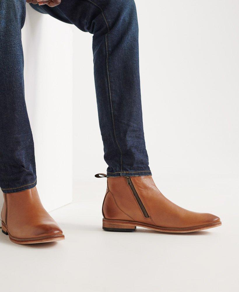 Superdry Mens Trenton Zip Boots