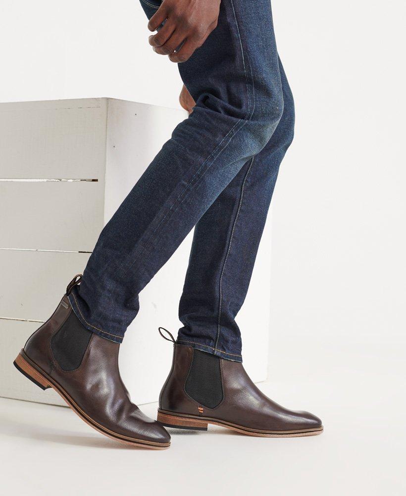 Superdry Meteora Chelsea Boots Brown