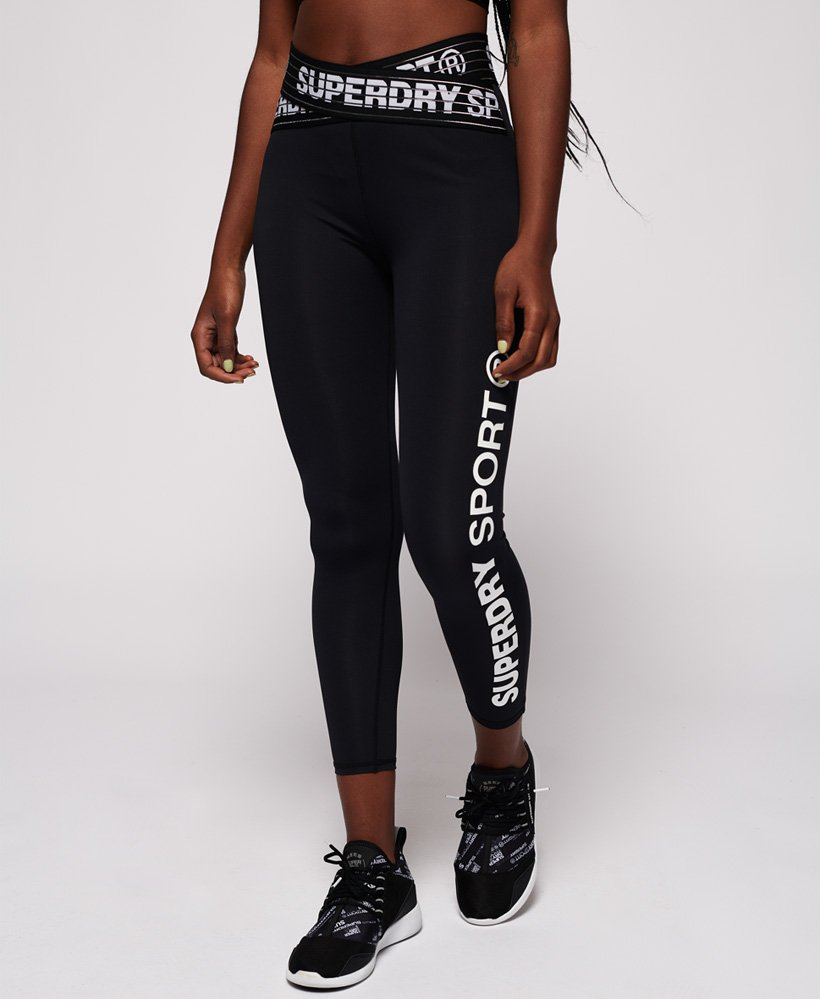 Superdry Core Cross 7/8 Leggings thumbnail 1