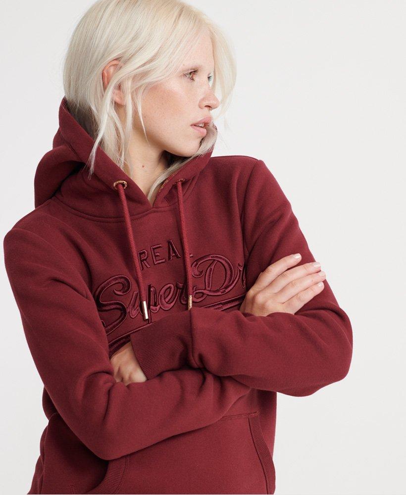 Superdry Vintage Logo Premium Entry Hood Sweat-Shirt /À Capuche Femme