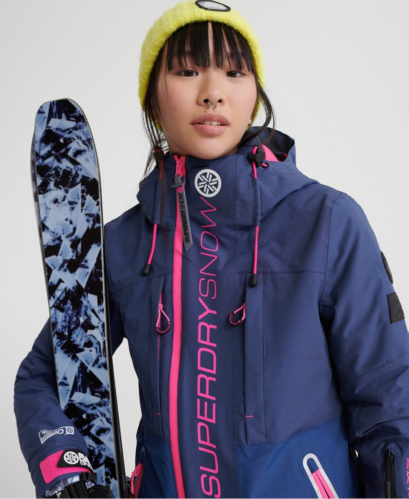 Superdry SLALOM SLICE SKI JACKET 2 IN 1 Ski jas vortex