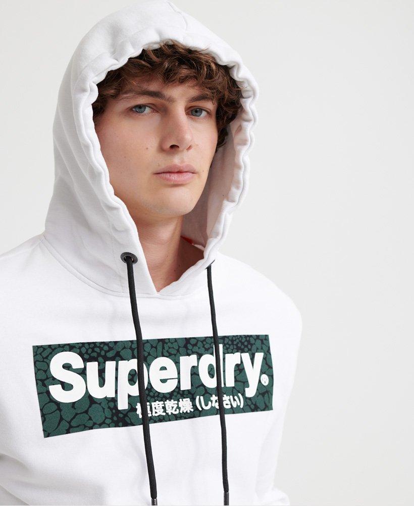 Superdry Herren Camo International Hood Kapuzenpullover