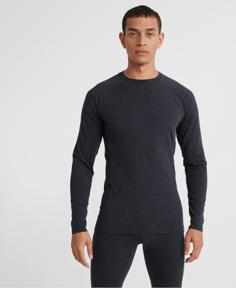 Merino Baselayer Crew Top by Superdry