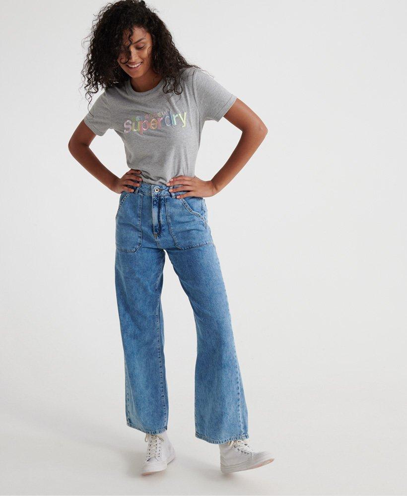 Superdry Frankie Wide Leg Jeans  thumbnail 1