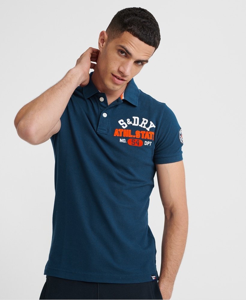 Superdry Organic Cotton Classic Superstate Polo Shirt  thumbnail 1