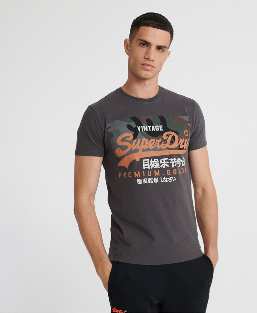 Superdry Vintage Logo T skjorte i økologisk bomull Herre T