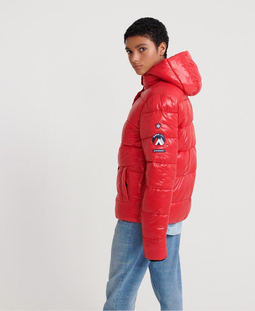 Superdry High Shine Toya Puffer Jacket  thumbnail 1