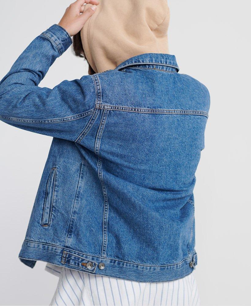 jeansjacke damen 42 oversize