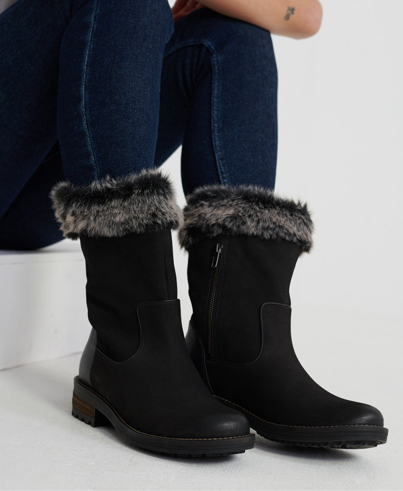 Womens - Faux Fur Tempter Boots in