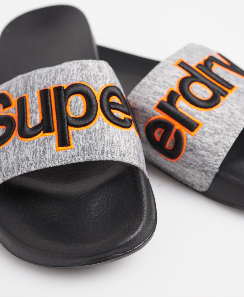 Superdry Sandales de piscine Classic brodées Homme Claquettes