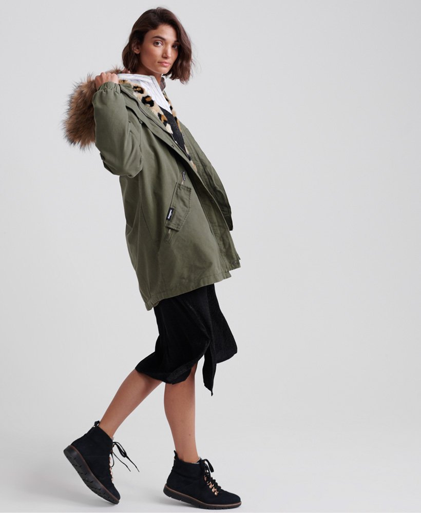 Superdry Lucy Rookie Parka Jacket Women's Jackets and Coats