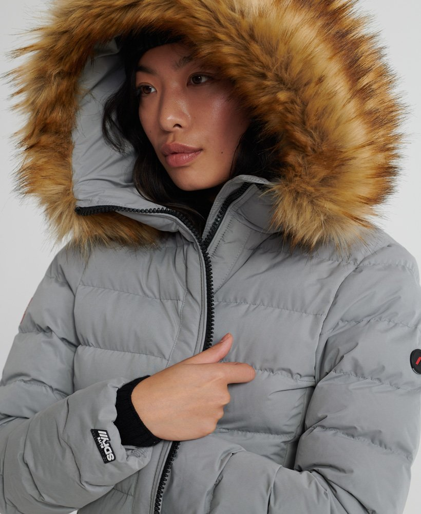 Superdry Arctic Long Puffer Coat