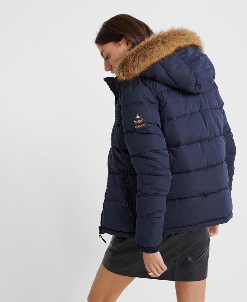 Superdry Kerama Faux Fur Microfibre Jacket thumbnail 1