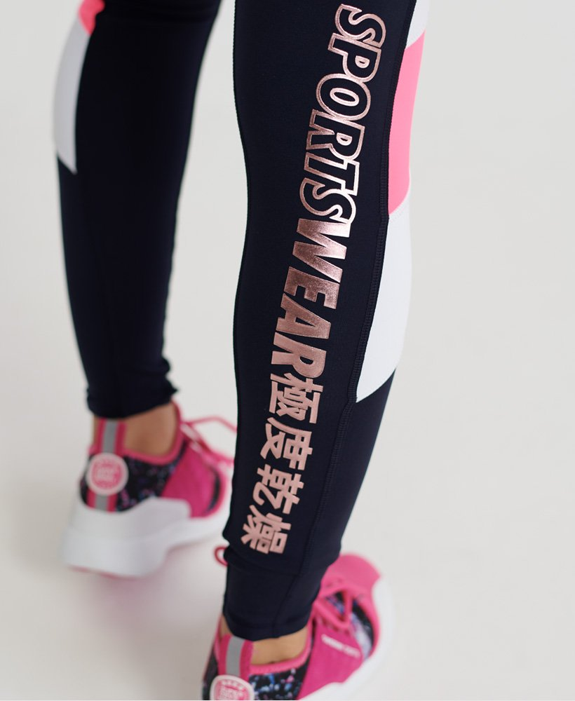 Superdry Legging Flash Sport City Survêtements pour Femme