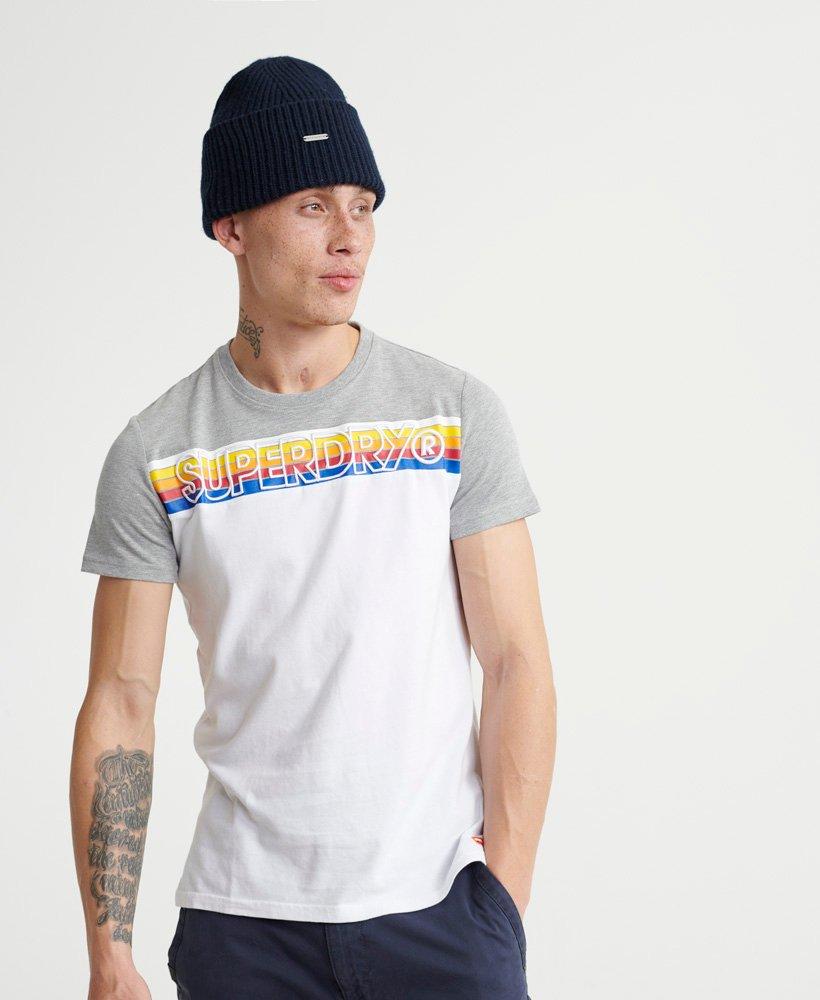 Superdry T-shirt brodé à rayures Cali