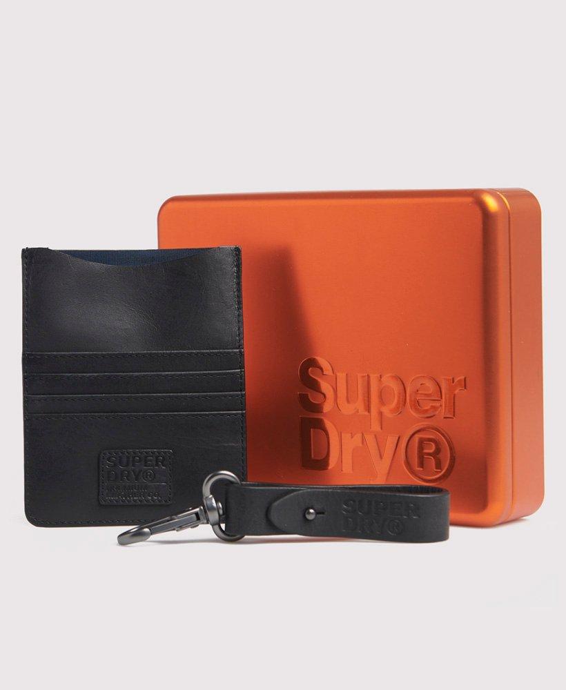 Reisebrieftaschenset aus Leder,Herren,Andere Accessoires
