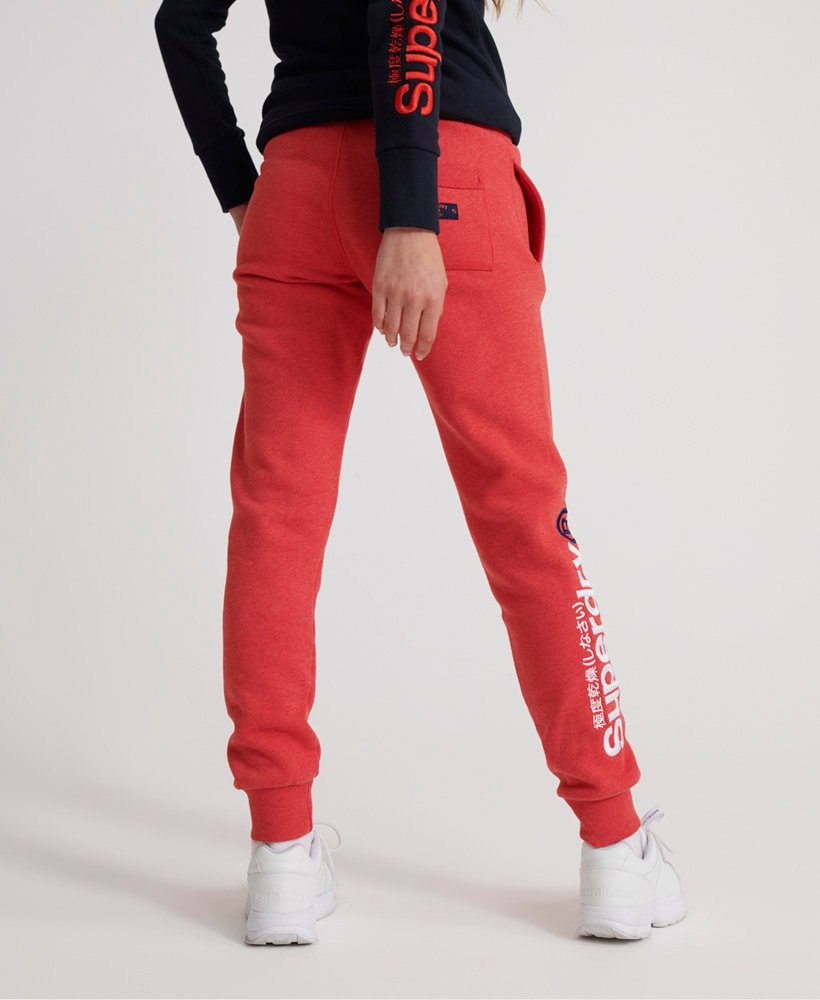 Superdry Modern Coral Label Hit joggingbyxor Tjejer