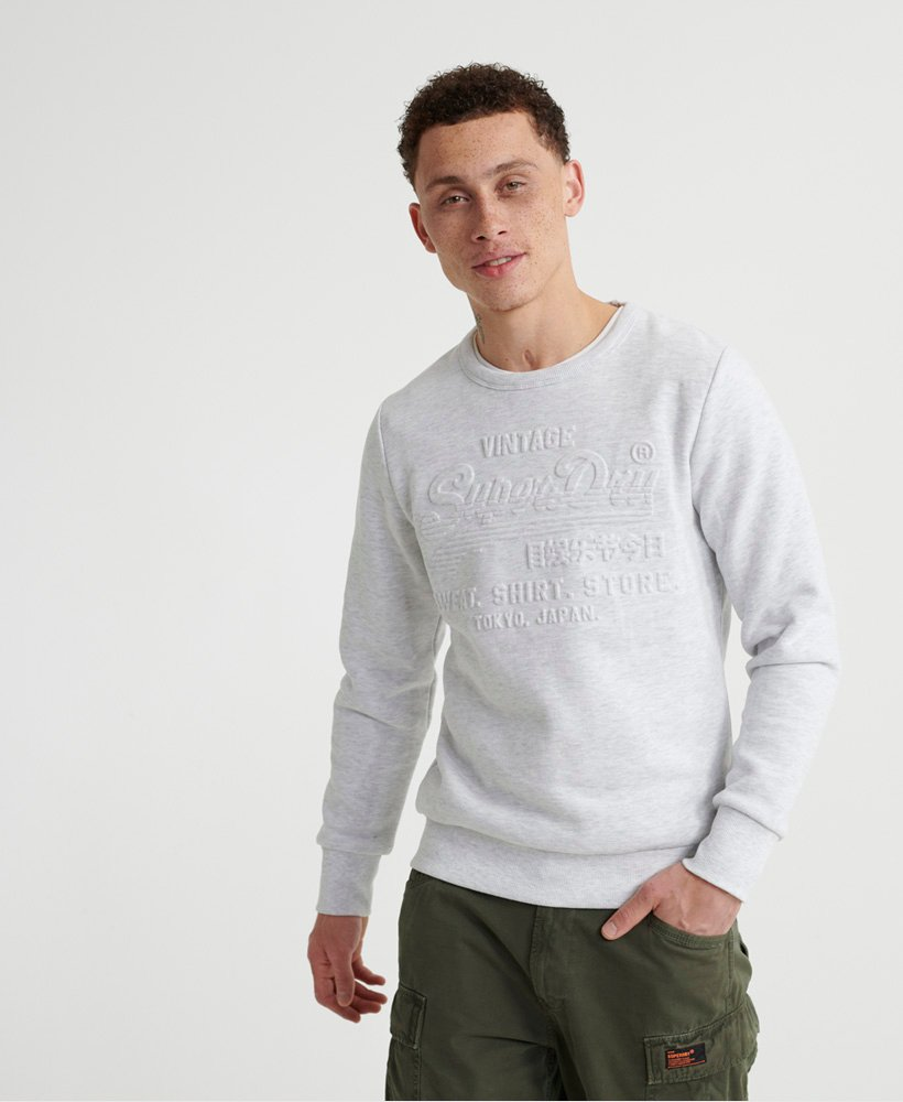 Superdry Sweat ras du cou gaufré Sweat Shirt Shop Sweats
