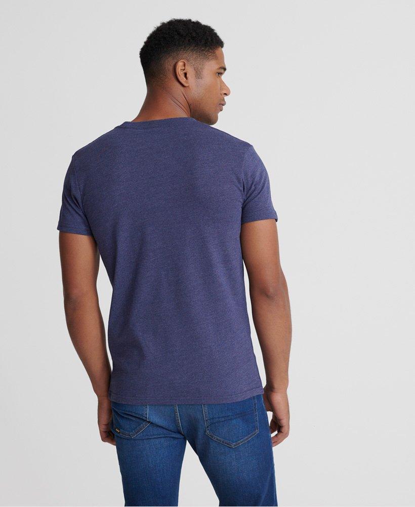 Superdry Mens Vintage Logo Heat Sealed T-Shirt
