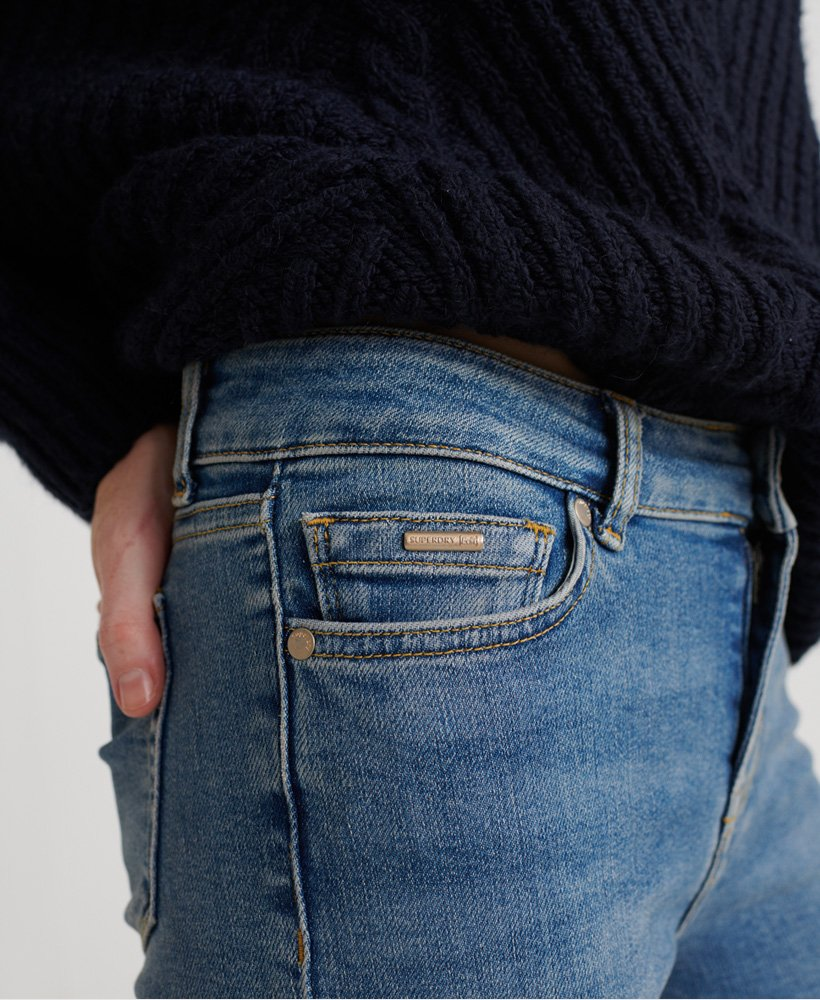 Superdry Jean skinny taille mi haute Super Crafted Jeans