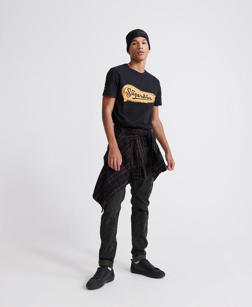 Superdry Merch Store Band T skjorte Herre T skjorter