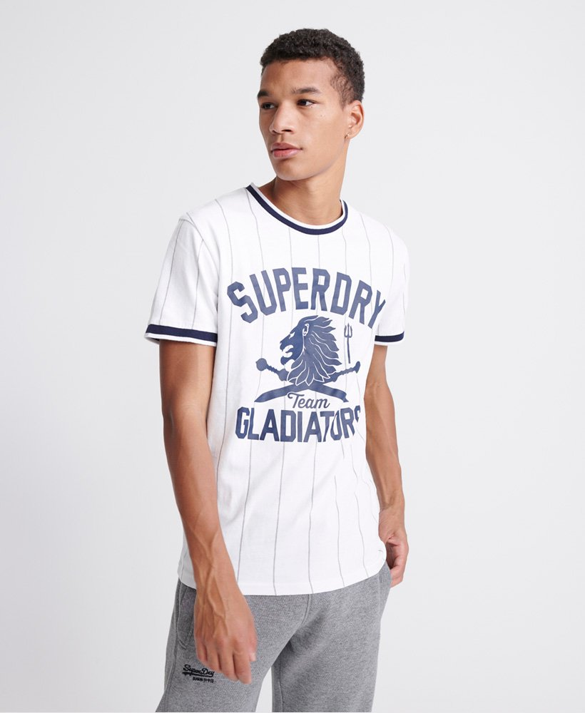 Superdry Urban Varsity T Shirt Herren T Shirts