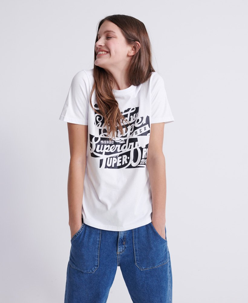 Superdry Brand Language Oversized T-Shirt thumbnail 1