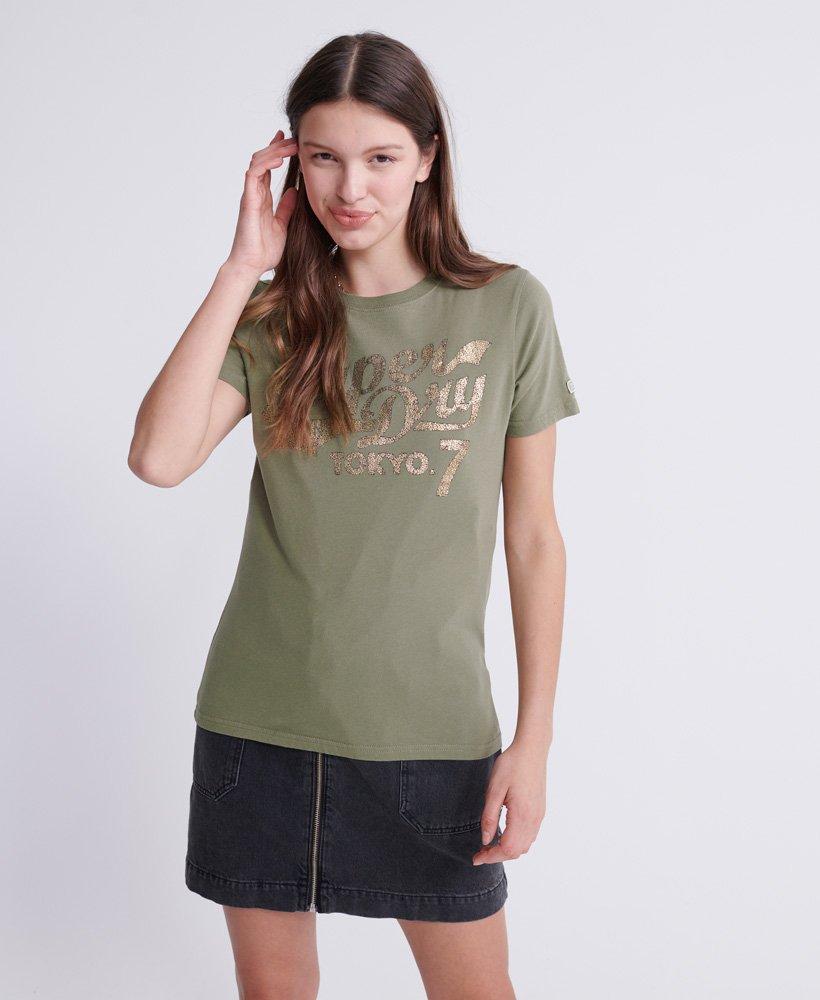 Superdry Dry Camo Script T-Shirt thumbnail 1