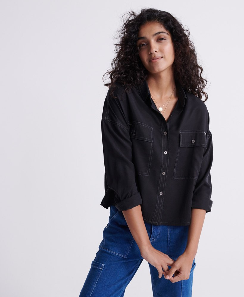 Superdry Desert Oversized T skjorte Dame T skjorter