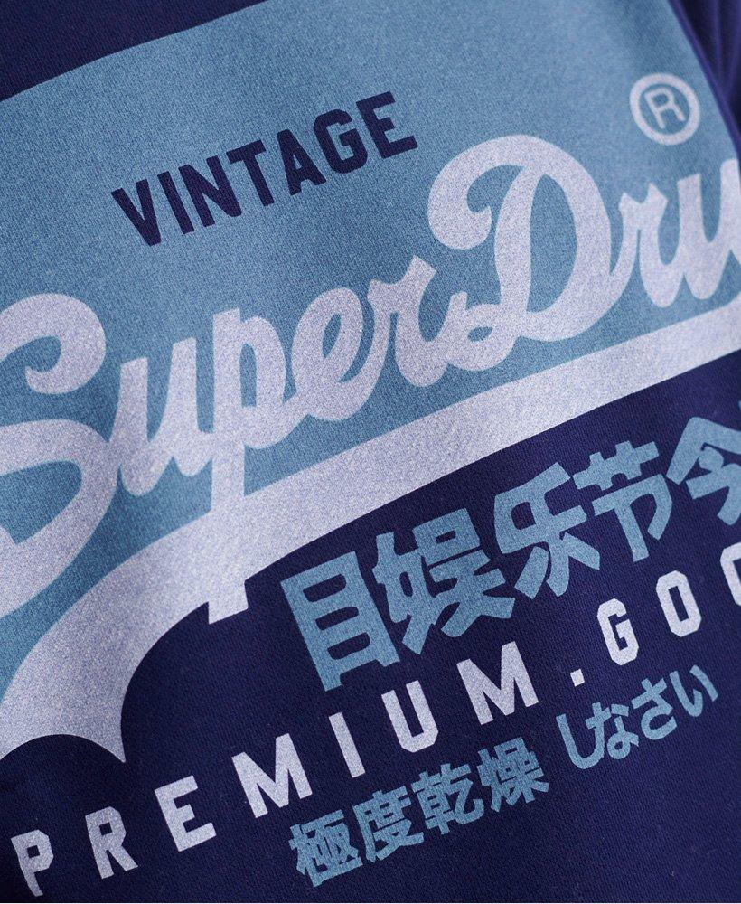 Superdry Vintage Logo collegegenser i økologisk og ensidig