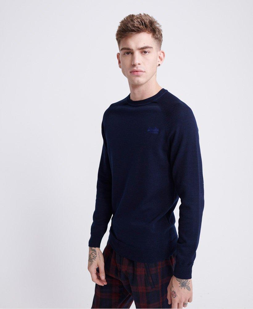 Superdry Pull en coton Orange Label Pulls pour Homme