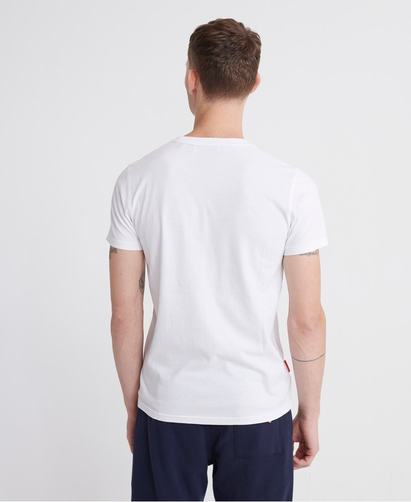 Superdry Men/'s Collective T-Shirt White