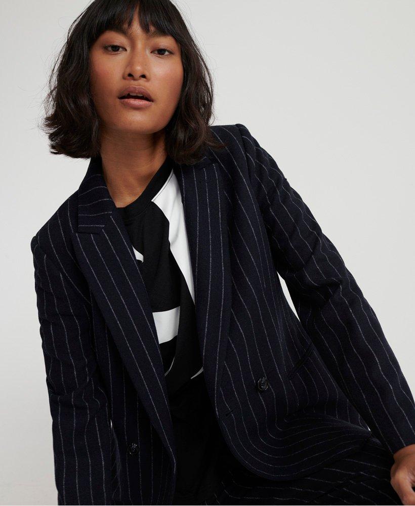 Superdry Womens Edit Sapporo Blazer Suit Jacket