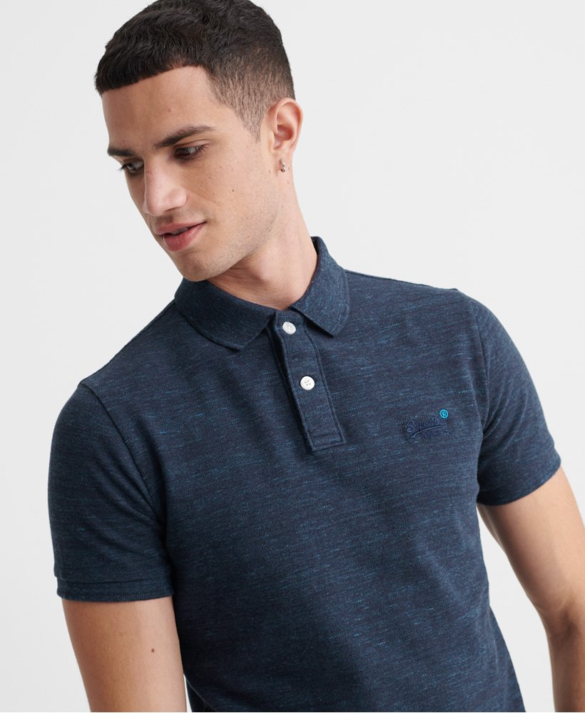 Superdry Classic Pique Short Sleeve Polo Shirt thumbnail 1