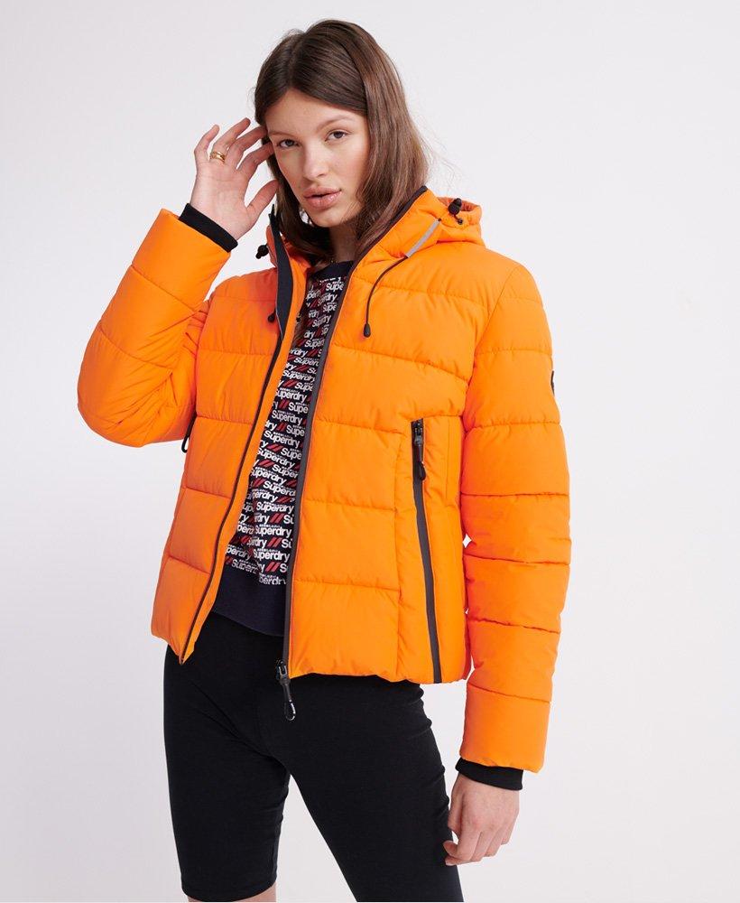 doudoune nouvelle collection femme orange superdry