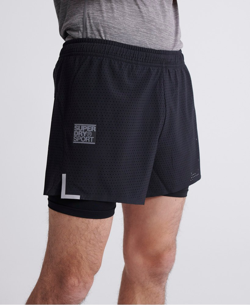 Superdry Training Lightweight Shorts 0