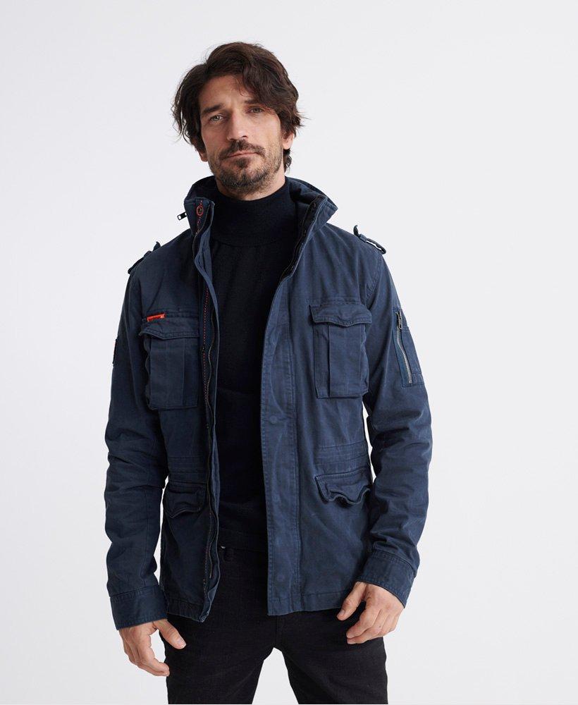 Superdry Veste à poches Rookie Classic Vestes pour Homme