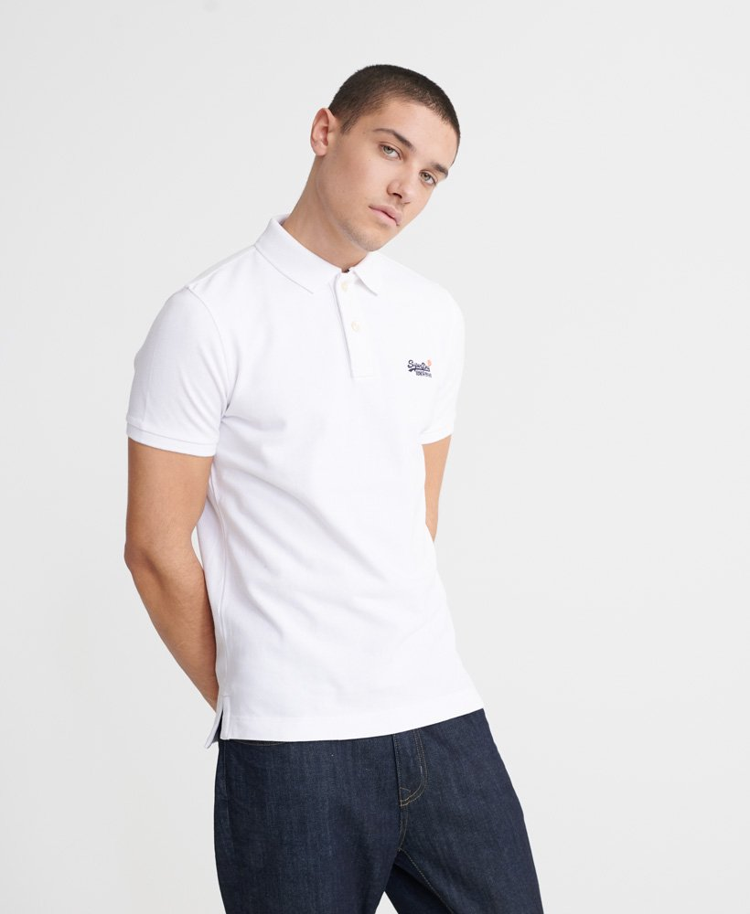 Superdry Organic Cotton Classic Pique Polo Shirt thumbnail 1