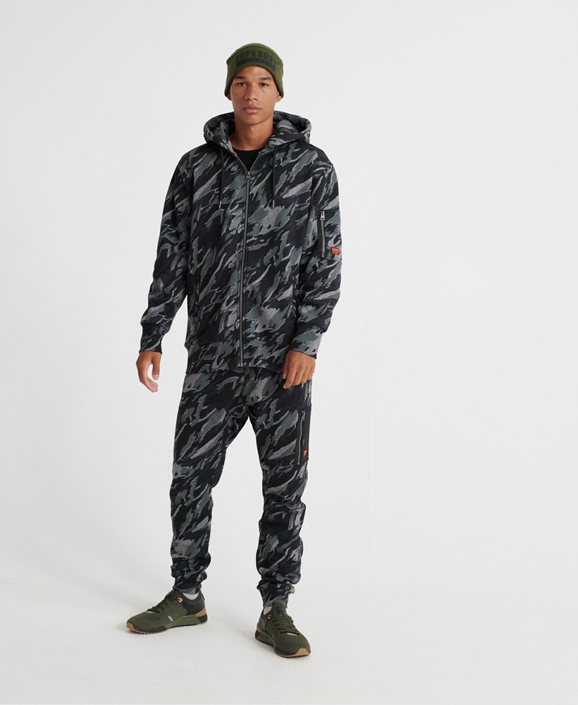 Superdry Sweat à capuche zippé avec poche zippée Rookie