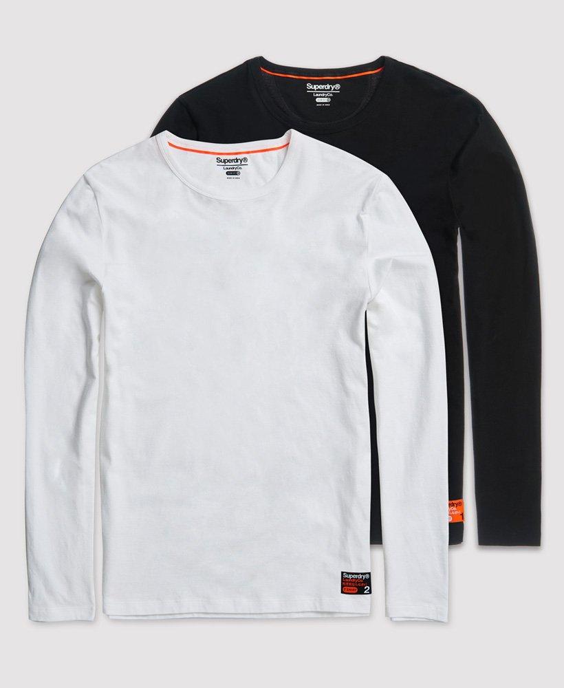 Superdry Laundry T shirts med tætsiddende pasform, 2 pak