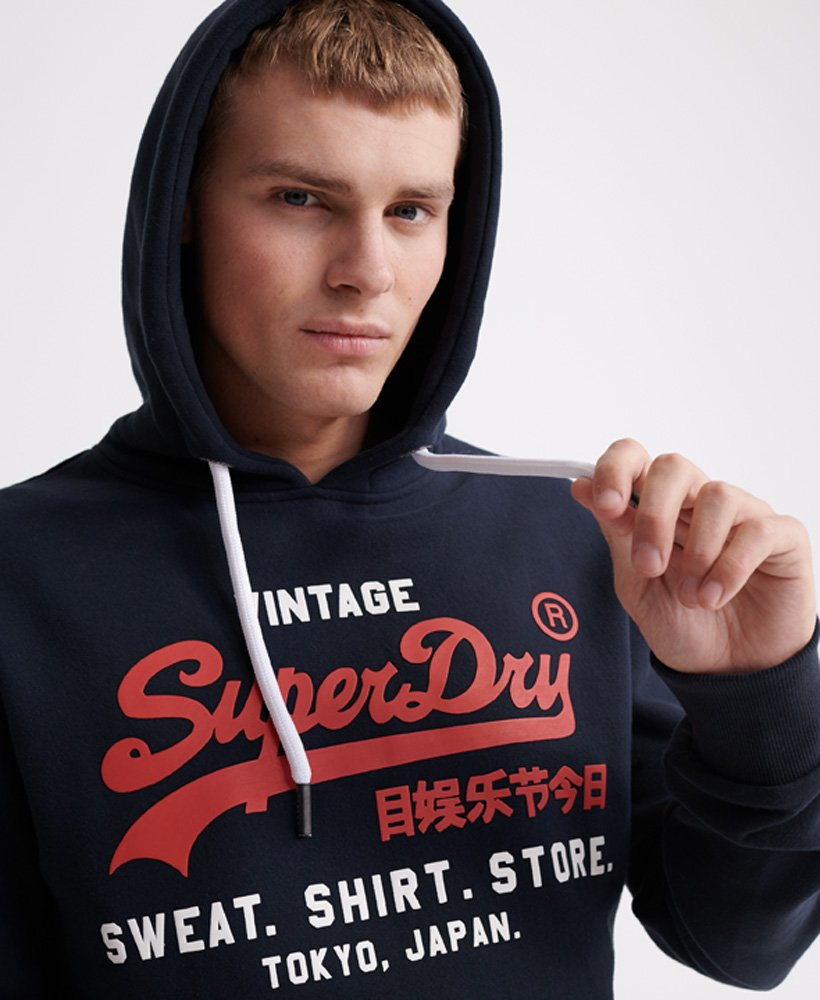 Superdry Sweat Shirt Shop Duo Hoodie Men's Hoodies