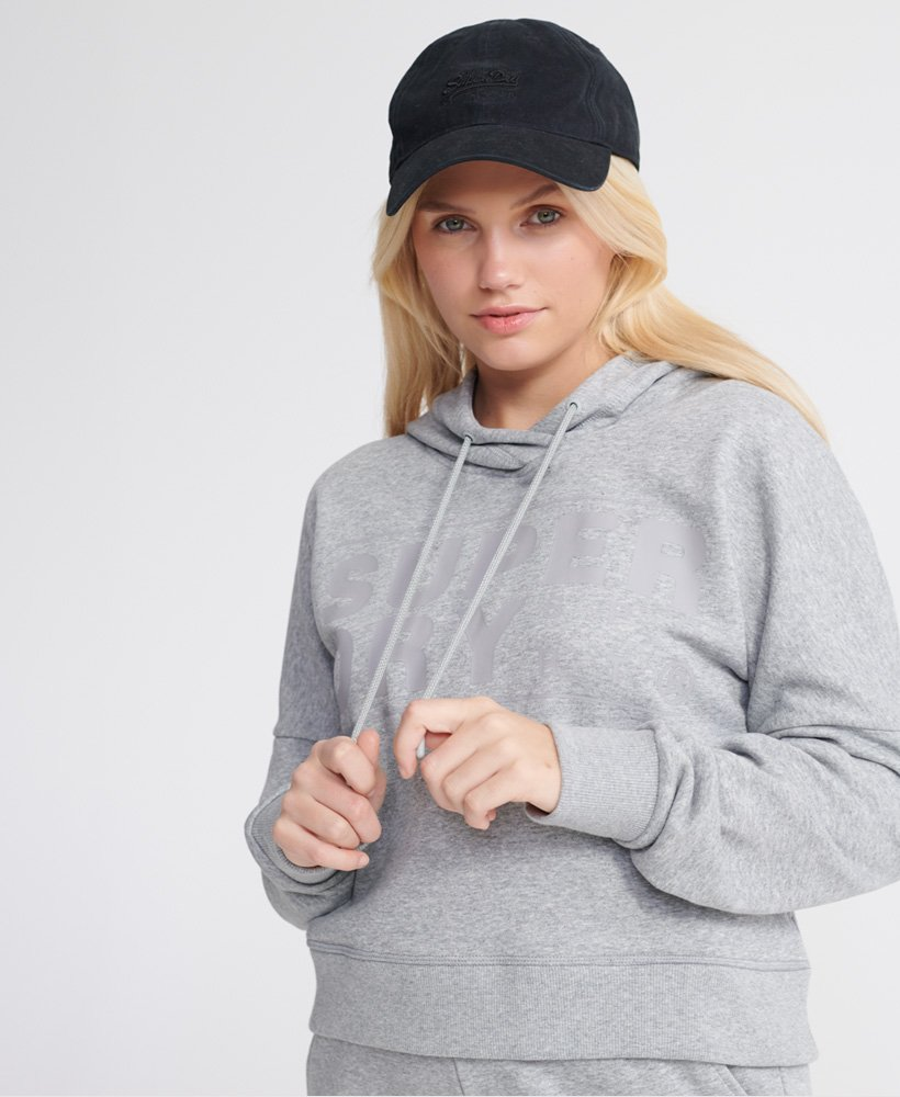 Superdry Sweat à capuche court Core Sport Sweats à