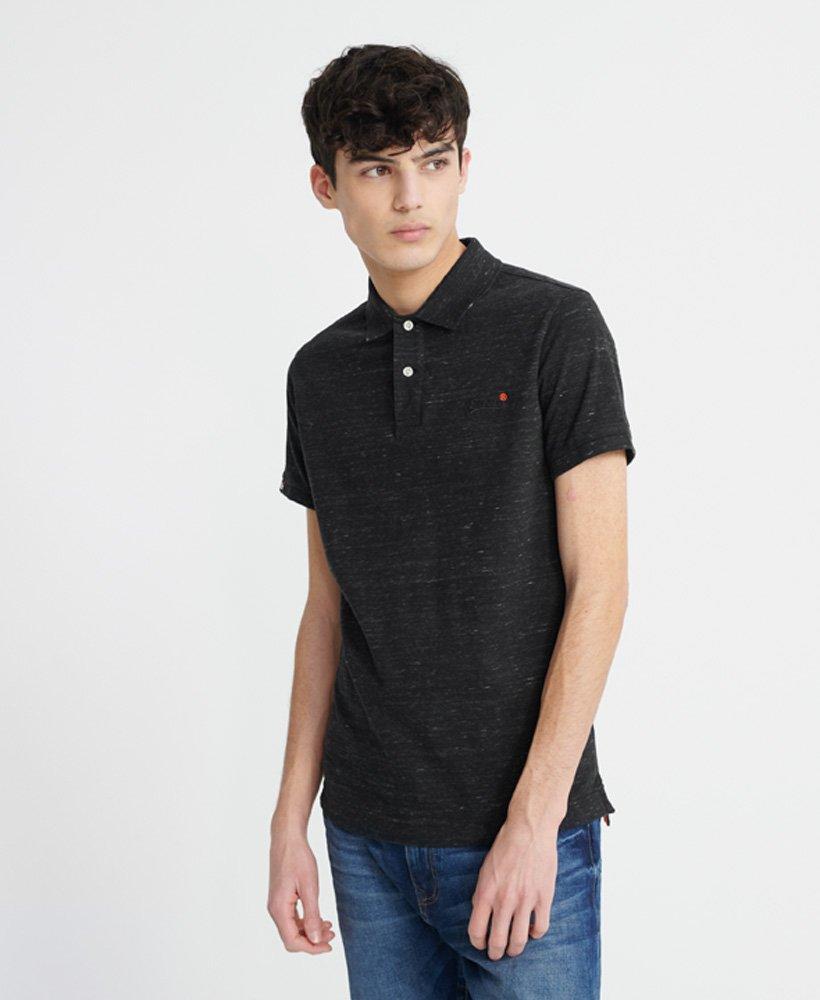 Superdry Organic Cotton Jersey Short Sleeve Polo Shirt thumbnail 1