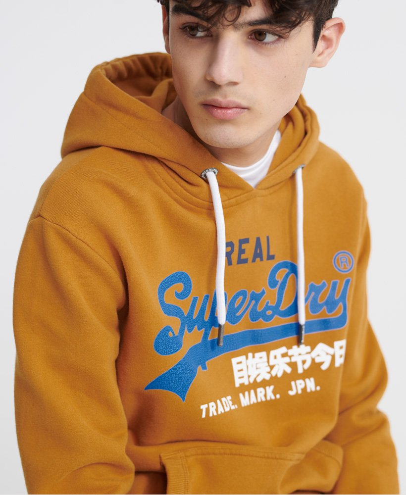 Superdry Sweat à capuche avec logo vintage Desert Sweats