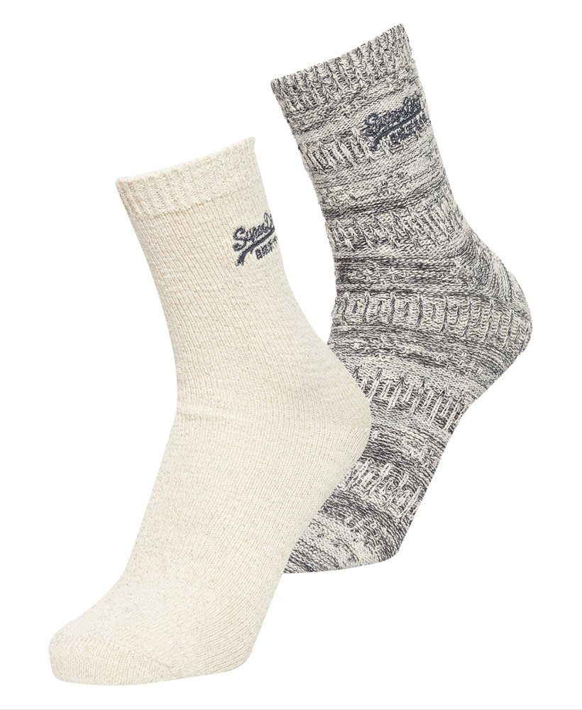 Superdry All Over Sparkle Socks Double Pack 0