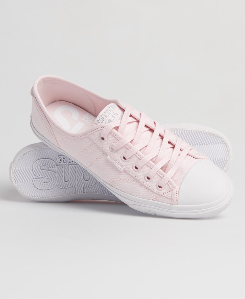 Womens - Low Pro Sneakers in Soft Pink