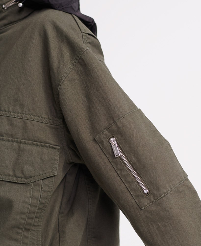 Superdry Womens Bora Cropped Jacket