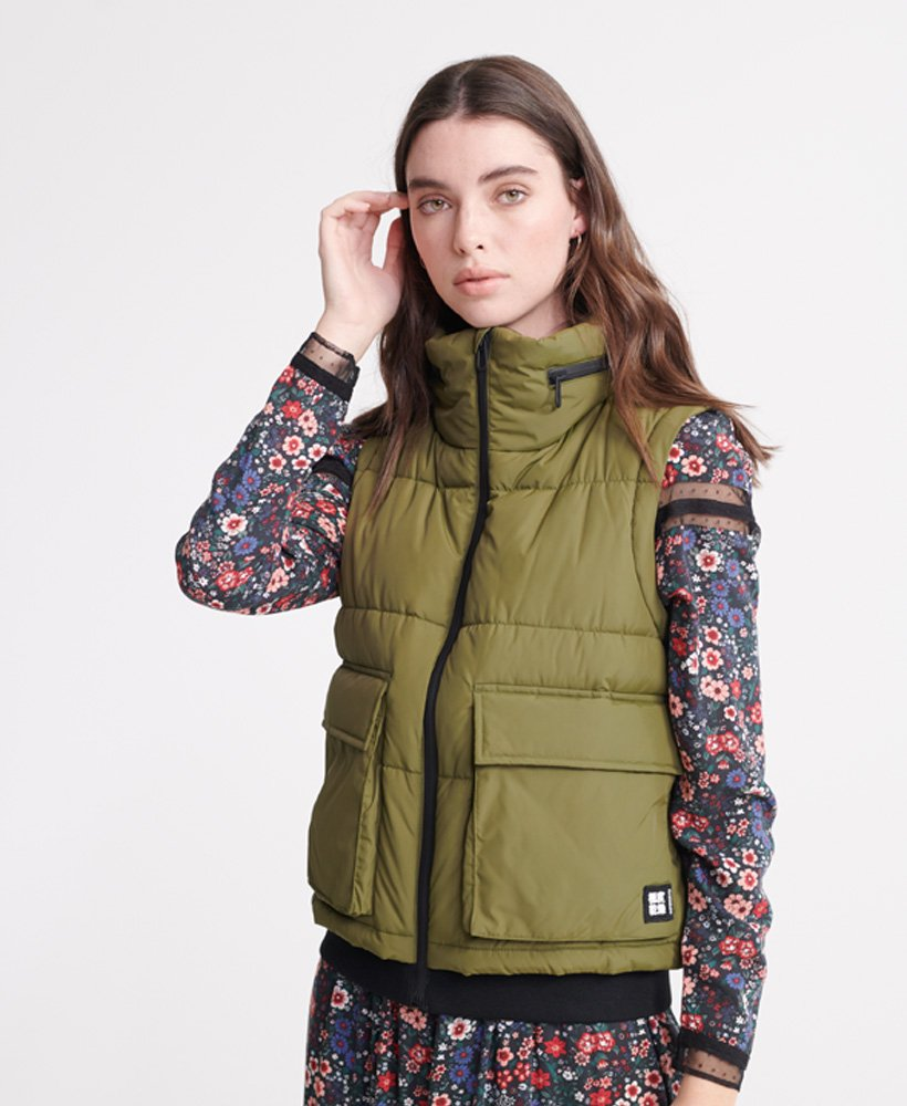 Superdry Womens Ls Essentials Padded Gilet Outdoor