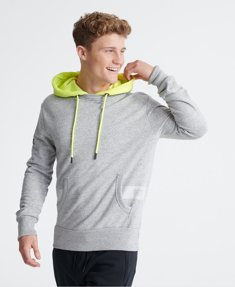 Superdry Sweat à capuche léger fluo City Micro Hit