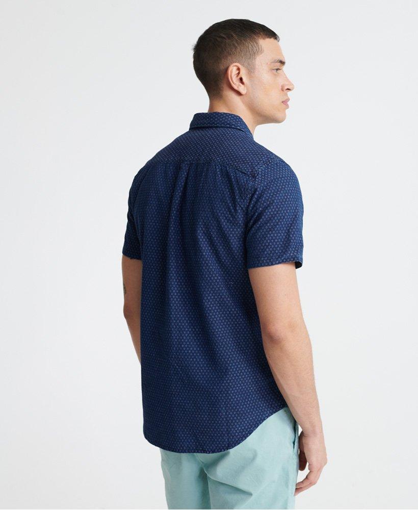 Blue Details about  /Superdry Men/'s Edit Cabana Shortsleeved Shirt